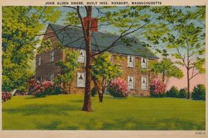 John Alden House, Duxbury, Massachusetts, C1940S