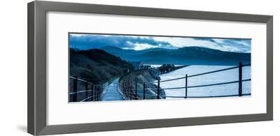 Barmouth Bridge, Coast of Cardigan Bay, Gwynedd, Wales, United Kingdom, Europe