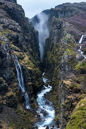 Glymur Waterfall, Iceland, Polar Regions
