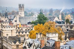 Magdalen College in Autumn, Oxford, Oxfordshire, England, United Kingdom, Europe by John Alexander