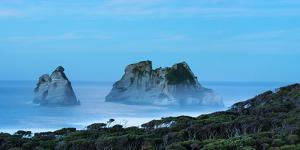 Night at Wharariki Beach on West Coast of South Island, Nelson, South Island, New Zealand, Pacific by John Alexander