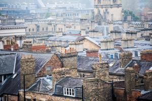 Oxford Rooftops, Oxford, Oxfordshire, England, United Kingdom, Europe by John Alexander