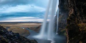 Seljalandsfoss waterfall, Iceland, Polar Regions by John Alexander