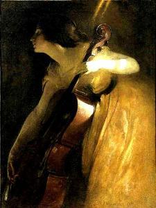 The Cellist, 1898 by John Alexander