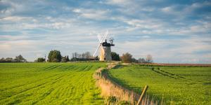 Windmill in Great Haseley in Oxfordshire, England, United Kingdom, Europe by John Alexander