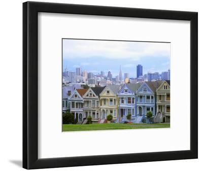 Alamo Square Park, San Francisco, California, USA