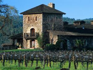 V Sattui Winery and Vineyard in St. Helena, Napa Valley Wine Country, California, USA by John Alves