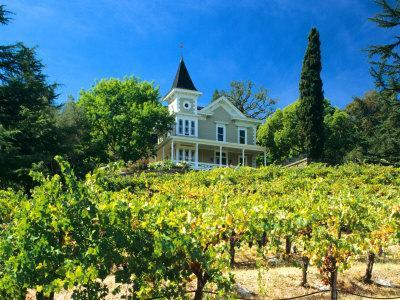 Victorian St. Clement Winery, St. Helen, Napa Valley Wine Country, California, USA