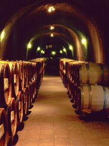 Wine Cave at the Pine Ridge Winery on the Silverado Trail, Napa Valley, California, USA by John Alves