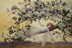 Ariel, C.1858-68 by John Anster Fitzgerald