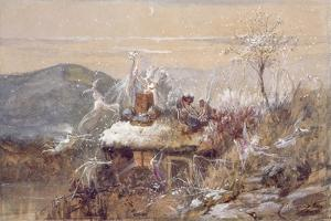 Christmas Eve by John Anster Fitzgerald