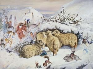 Fairies in the Snow by John Anster Fitzgerald