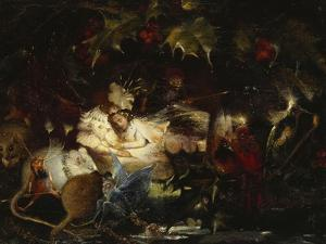 In the Fairy Bower by John Anster Fitzgerald