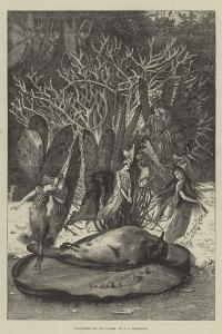 Poor Robin and the Fairies by John Anster Fitzgerald