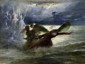 Sea Sprites, C.1870 by John Anster Fitzgerald