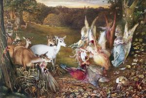 The Enchanted Forest by John Anster Fitzgerald