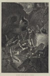 The Fairies' Favourite by John Anster Fitzgerald
