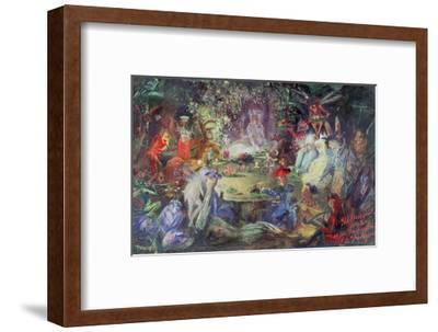 The Fairy Banquet, 1832-1906