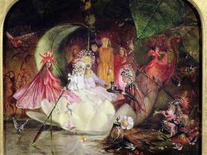 The Fairy Barque by John Anster Fitzgerald