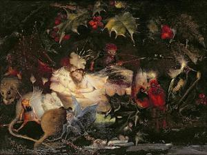 The Fairy Bower by John Anster Fitzgerald