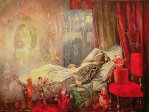 The Stuff That Dreams are Made Of, 1858 by John Anster Fitzgerald