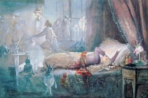 The Stuff That Dreams are Made of (W/C on Paper) (See also 109712) by John Anster Fitzgerald