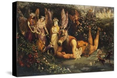 Titania and Bottom, from a Midsummer Night's Dream