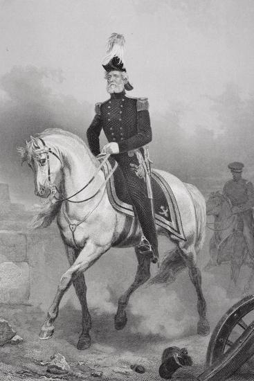 John Anthony Quitman (1798-1858)-Alonzo Chappel-Giclee Print