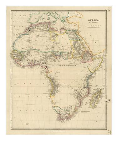 Africa, c.1834