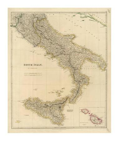 Southern Italy, c.1832