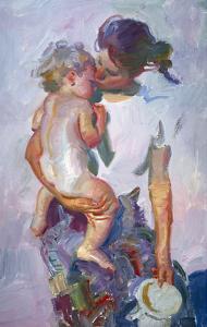 A Kiss by John Asaro