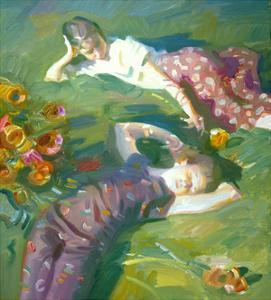 Asaro Girls by John Asaro