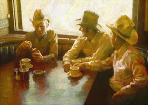 Caffeine, Nicotine, and Cowboys by John Asaro