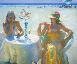 Champagne Reception by John Asaro