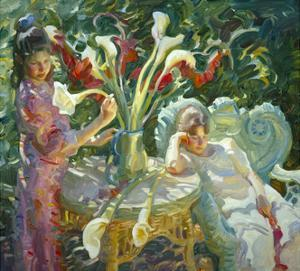 Easter Lilies by John Asaro