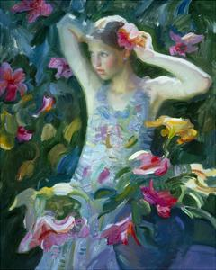 Garden Floral Arrangement by John Asaro