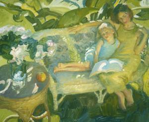 Garden Story by John Asaro