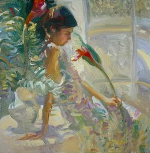 Hawaiian Floral by John Asaro