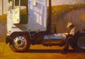 Riding the Range by John Asaro