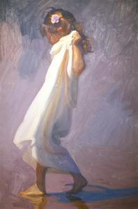 The Negligee by John Asaro
