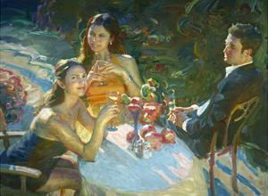 The Reception by John Asaro