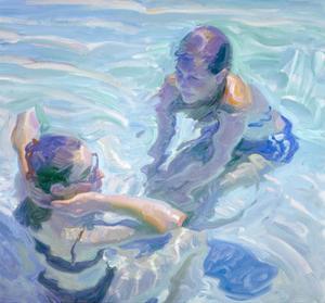 Turquoise Pool by John Asaro