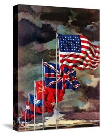 """Allied Forces Flags,"" July 3, 1943"