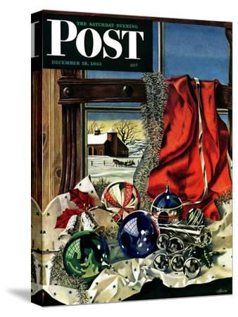 """Christmas Ornaments,"" Saturday Evening Post Cover, December 18, 1943"