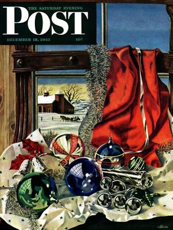 """""""Christmas Ornaments,"""" Saturday Evening Post Cover, December 18, 1943"""