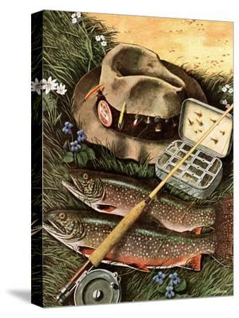 """Fishing Still Life,"" April 15, 1944"