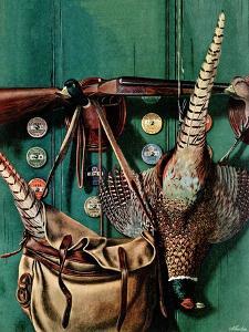 """""""Hunting still life,"""" November 11, 1944 by John Atherton"""