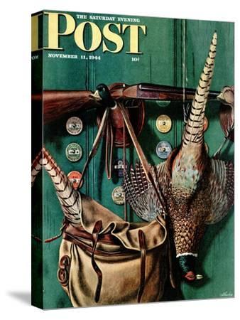 """Hunting still life,"" Saturday Evening Post Cover, November 11, 1944"