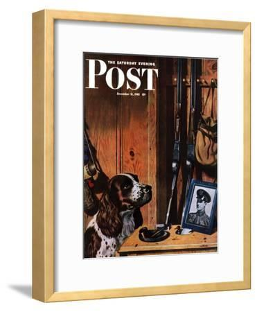 """Patient Dog,"" Saturday Evening Post Cover, December 12, 1942"