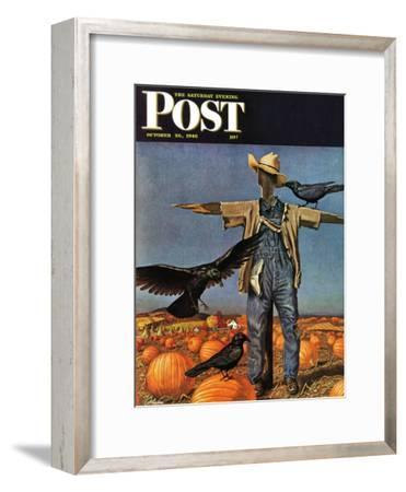 """Scarecrow,"" Saturday Evening Post Cover, October 26, 1946"
